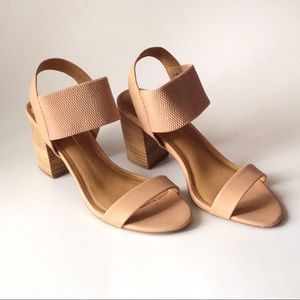 NEW with box Report patience nude heels Size 8